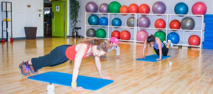 Of all the gyms in Boulder, the best fitness classes are here! Ready to sweat?